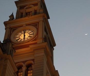 Relógios da Estação da Luz <br />Foto Flávio Magalhães