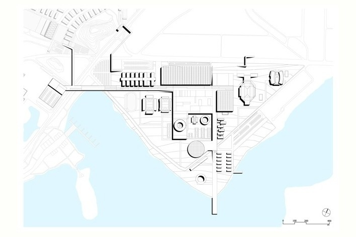 Cluster Barra - Parque Olímpico do Rio (OLP)<br />Rio 2016/ BCMF Arquitetos
