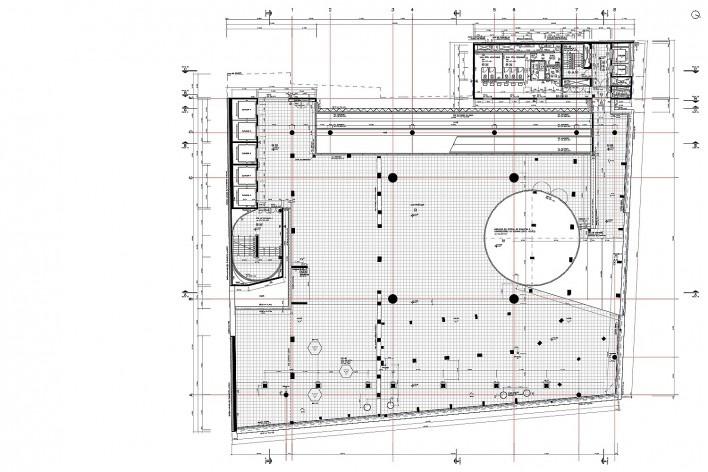 Sesc 24 de Maio, 3º pavimento, convivência, Paulo Mendes da Rocha + MMBB Arquitetos, São Paulo<br />Imagem divulgação
