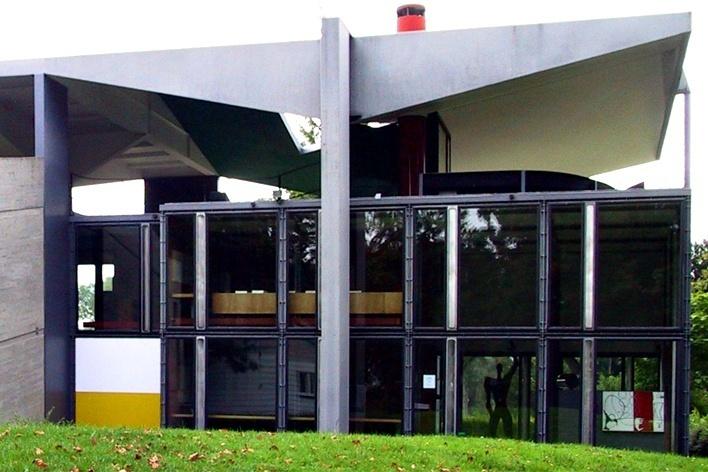 Centre Le Corbusier / Museu Heidi-Weber, Zurique, Suíça<br />Foto Silvana Romano Santos
