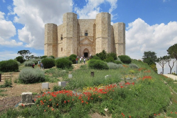 Castel del Monte, região próxima a Andria, na Puglia<br />Foto Victor Hugo Mori, 2016