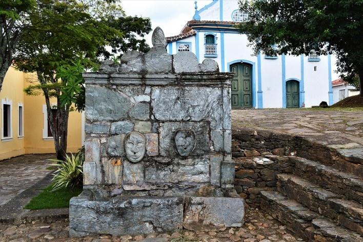 Chafariz do século 18, Largo do Rosário, Diamantina MG, 2014<br />Foto Elio Moroni Filho