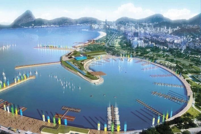 Marina da Gloria - Sailing<br />Rio 2016/BCMF Arquitetos