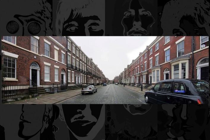 Panorâmica da Falkner Street, uma das mais bem preservadas ruas vitorianas da Inglaterra e cenário de vários filmes<br />Foto Victor Hugo Mori