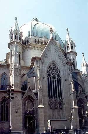 Catedral e Praça da Sé, São Paulo<br />Foto de Paulo Bastos