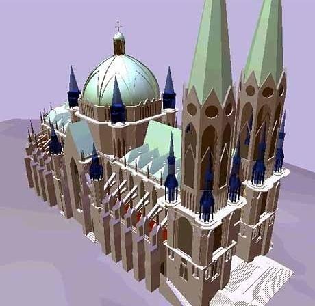 Catedral, aternativa transparente<br />Foto de Paulo Bastos