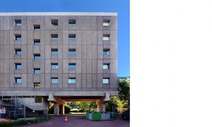 Casa do Brasil, Cidade Universitária de Paris, 1959. Arquiteto Le Corbusier<br />Foto Victor Hugo Mori