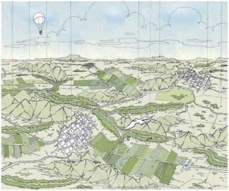 Análise do território<br />Imagem dos autores do projeto