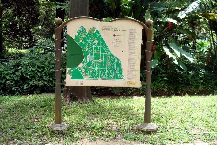Planta do Jardim Botânico