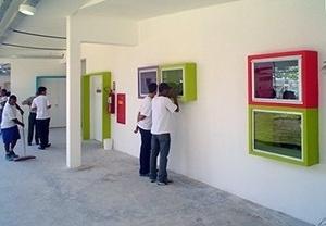 Circulação de acesso a biblioteca<br />Imagem dos autores do projeto