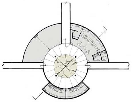 Planta do Monumento em Porongos<br />Imagem dos autores do projeto