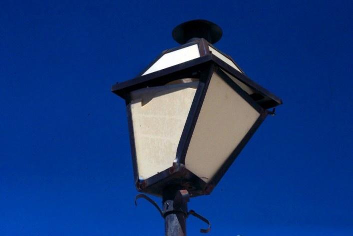 Iluminação pública<br />Foto Fabio Lima