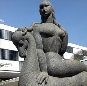 Esculturas A Caçadora, Ibirapuera<br />Foto Flávio Magalhães
