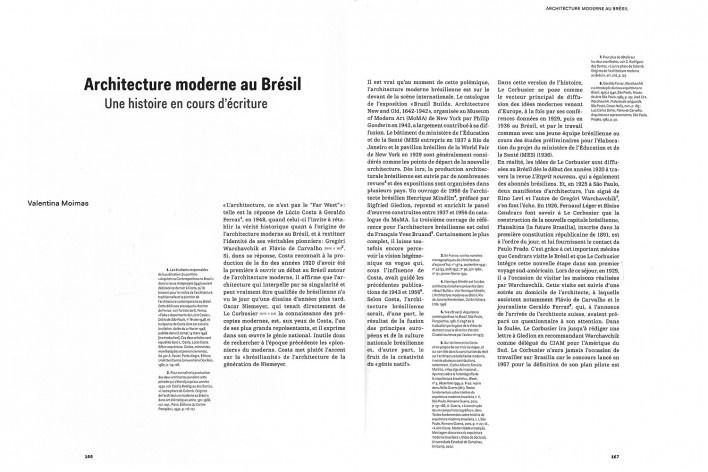 Páginas do catálogo da exposição Modernités Plurielles 1905-1970, Centre Pompidou, MNAM-CCI, Paris, de outubro de 2013 a fevereiro de 2015 [© Centre Pompidou, MNAM-CCI]
