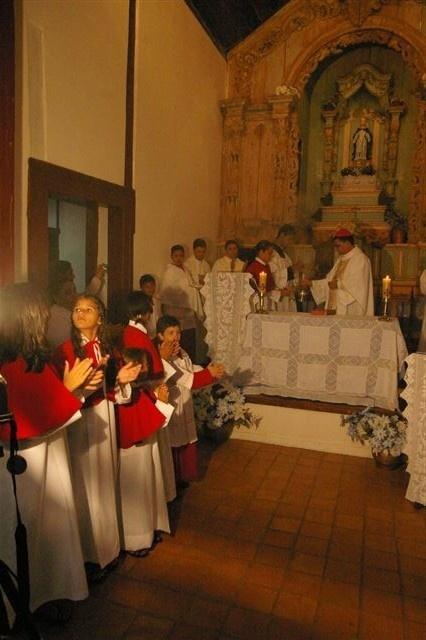 Interior de igreja, Pilar de Goiás GO<br />Foto Marco Antônio Galvão