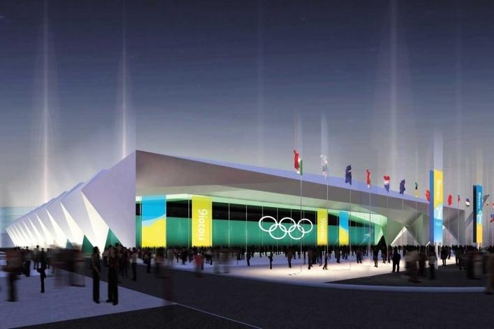 Rio Center - Hall 6 (Weightlifting)<br />Rio 2016/BCMF Arquitetos