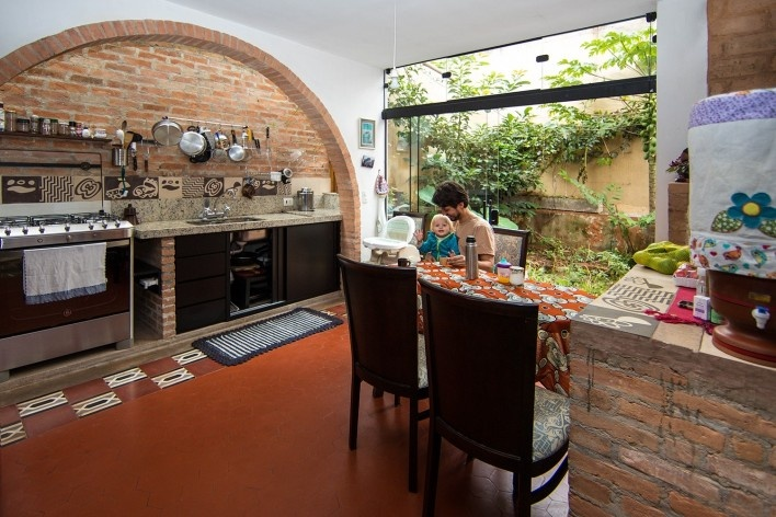 Casa do arquiteto, Butantã, São Paulo, 2012. Arquiteto Tomaz Lotufo<br />Foto Carol Bastos