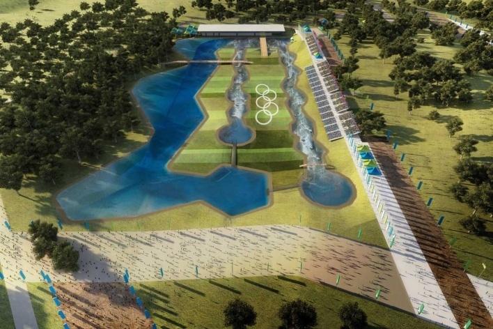 X-Park – CanoeKayak (Slalom)<br />Rio 2016/BCMF Arquitetos