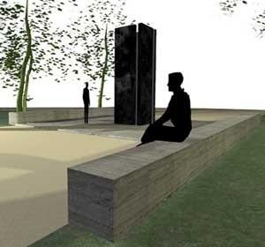 Monumento – Perspectiva<br />Imagem dos autores do projeto