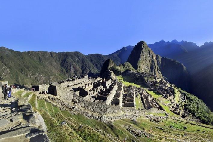 Alexandrina Mori em Machu Picchu, Cuzco, Peru, 2014<br />Foto Victor Hugo Mori