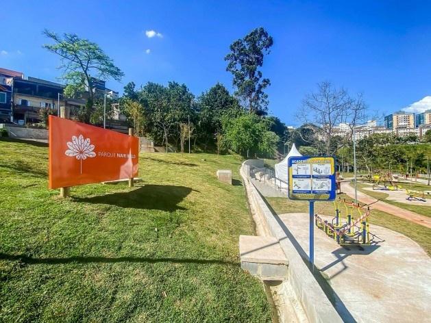 Parque Municipal Nair Bello, imagem da fase 01, São Paulo SP Brasil, 2020. Secretaria Municipal do Verde e do Meio Ambiente<br />Foto Edson Lopes Jr.  [Secom]