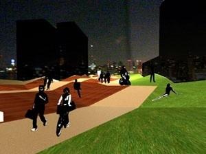 Foto montagem - Vista do Boulevard<br />Imagem do autor do projeto