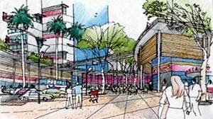 Boulevard proposto<br />Imagem dos autores do projeto