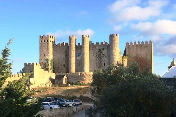 Óbidos, vista do Castelo<br />Foto Anita Di Marco