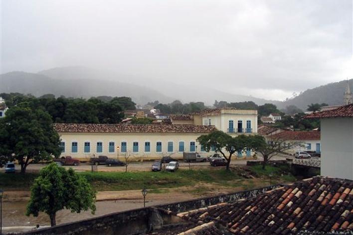 Chuva nos arredores de Goiás Velho<br />Foto Luís Magnani