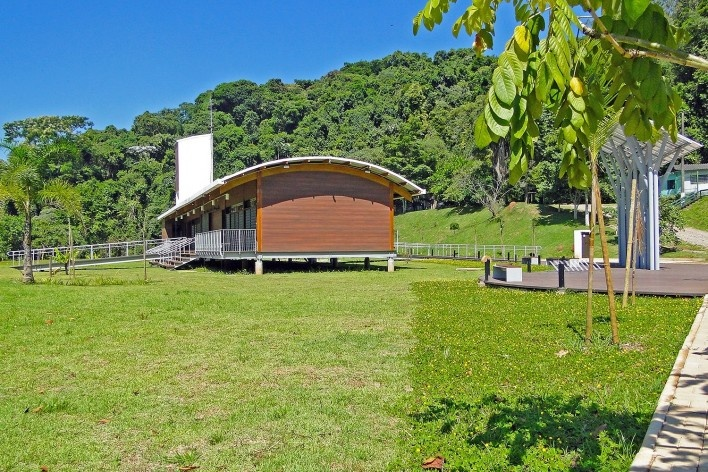 Sede Administrativa do Parque Natural Fazenda do Carmo, inserção, São Paulo, Secretaria do Verde e Meio Ambiente – SVMA, 2018<br />Foto divulgação