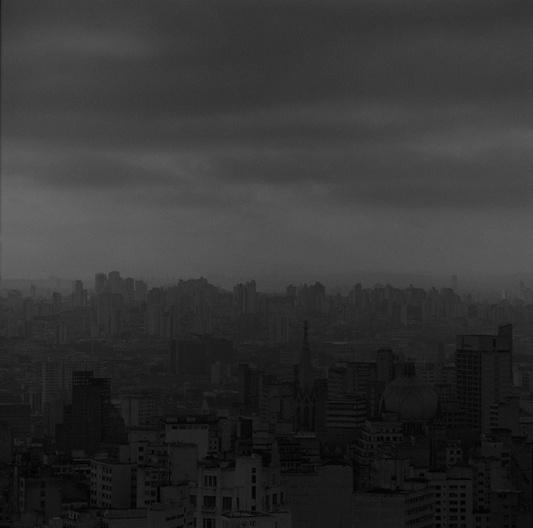 Ensaio fotográfico. Vista do Copan,90x90cm<br />Ensaio fotográfico Cristiano Mascaro