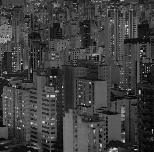Ensaio fotográfico. Sao Paulo 01, 90x90cm <br />Ensaio fotográfico Cristiano Mascaro