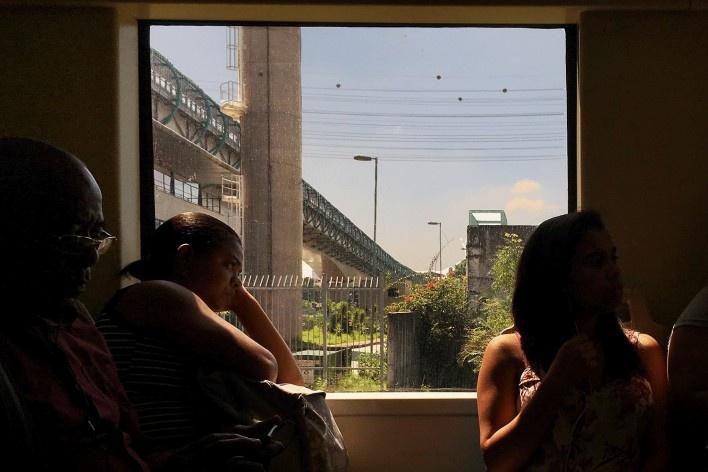 Paisagem urbana vista do trem da CPTM<br />Foto Abilio Guerra