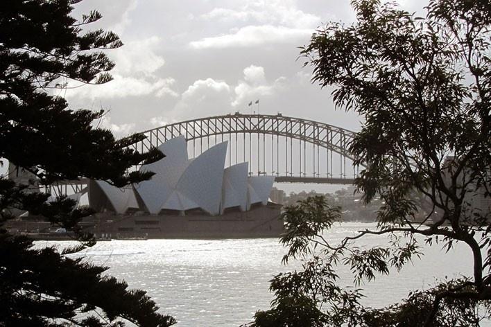 Ópera de Sydney, Jörn Utzon<br />Foto Gabriela Celani