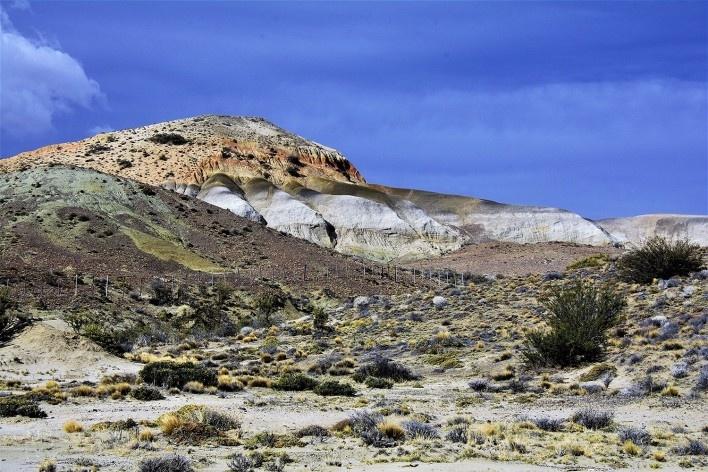 As cores da aridez. Bosque Petrificado, Sarmiento, Estado de Chubut, Argentina<br />Foto Diana Souza