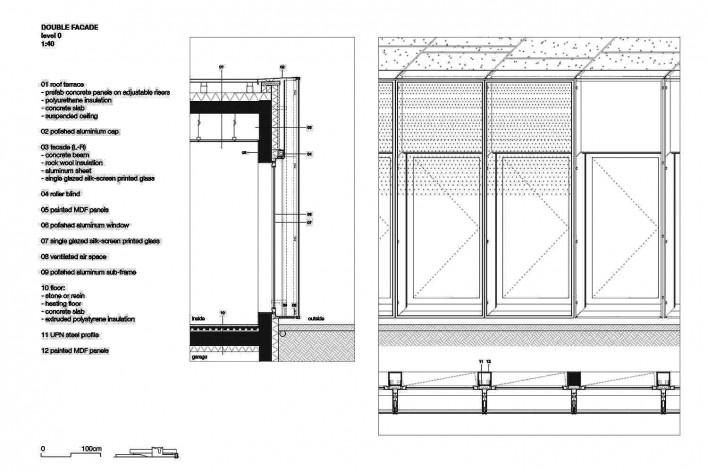 Câmara de Comércio e Artesanato de Hauts-de-France, detalhe, Lille, França, 2019. Escritórios Kaan Architecten e Pranlas-Descours Architect & Associates<br />Imagem divulgação  [Kaan Architecten / Pranlas-Descours Architect & Associates]