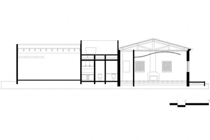Figura 6: Museu – corte