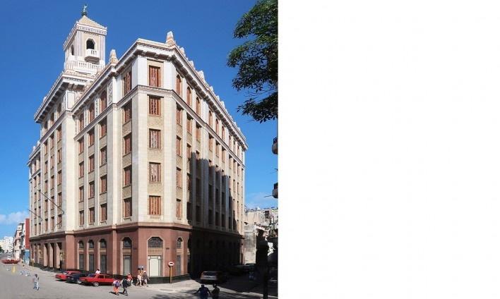 Edifício Bacardi, Habana Vieja, Cuba<br />Foto Victor Hugo Mori