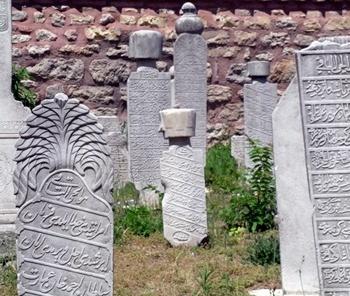 Cemitério Otomano em Istambul
