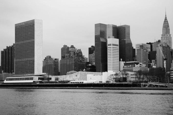 Sede da ONU em Nova York<br />Foto Felipe SS Rodrigues