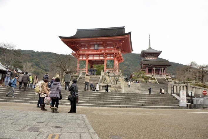 Templo Kiyomizudera, Kyoto<br />Foto Roberto Abramovich