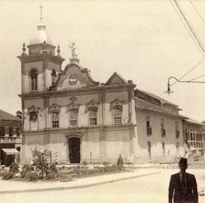 Igreja Matriz, antigamente