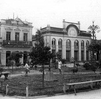 Praça da Matriz, antigamente