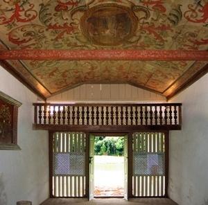 Interior da capela<br />Foto Vitor Hugo Mori