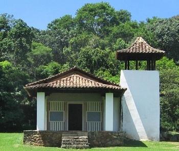 Capela de Santo Antônio, fachada<br />Foto Vitor Mori