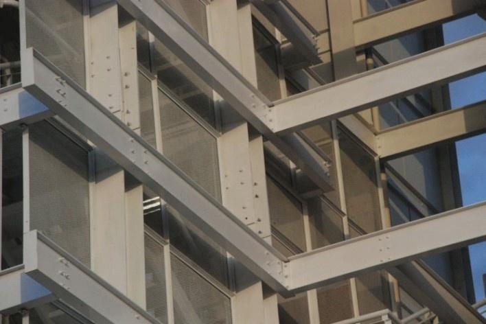 Estrutura da escada<br />Foto Arquivo MooMAA