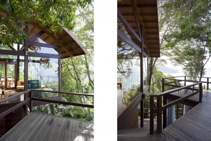 Casa do Felix, Praia do Felix, Ubatuba SP, arquiteto Silvio Sant'Anna<br />Foto Fran Parente