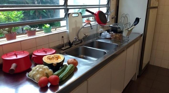 Viagem à cozinha de minha casa<br />Foto Paulo Rubens Simon