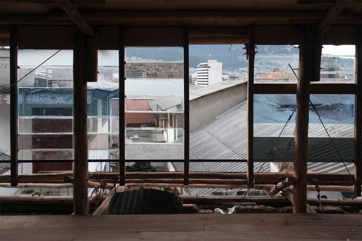 Casa en Construcción, construcción, Quito, Ecuador, 2014. Al Borde<br />Foto Al Borde