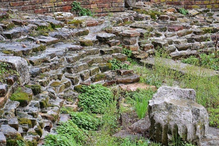 Archeological vestiges<br />Foto/photo Fabio Lima